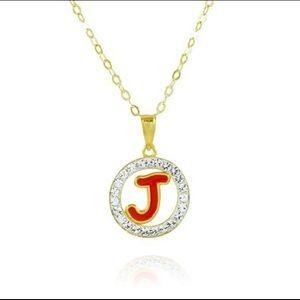 Jewelry - Initial J Necklace